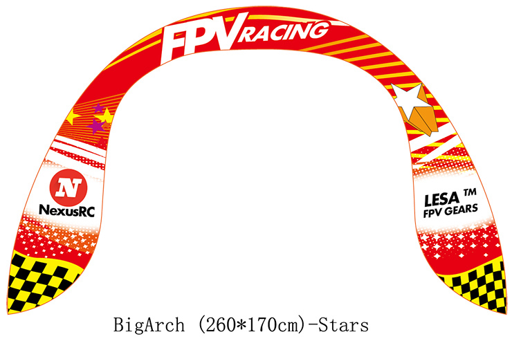 FPV air gate Big Arch STARS